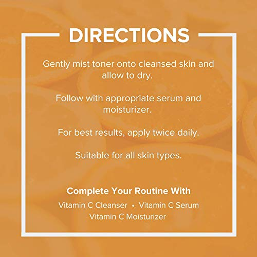 Vitamin C Skin Care Bundle - Face Wash, Skin Toner, Vitamin C Serum