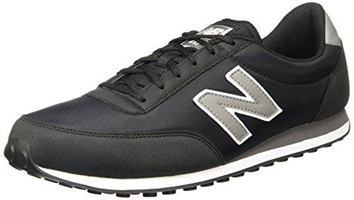 New Balance U410CC, Zapatillas Unisex, Negro (Carbon Grey), 45 EU