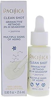 Pacifica Clean Shot Granactive Retinoid 5 Percent In Seawater For Unisex 0.8 oz Serum