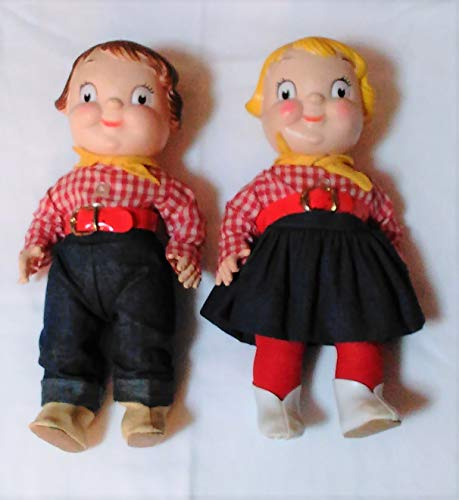 Campbell Kids Soup Dolls Vintage 60s-70s, Movable Arms, Legs, and Head.