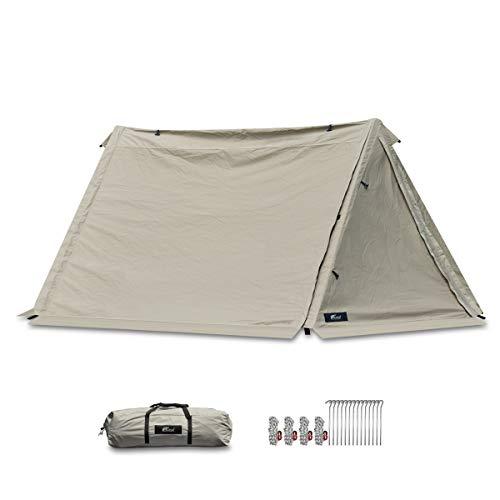画像1: ソロキャンプの道具リスト&おすすめキャンプ用品を紹介! 地べたスタイルが映えるタオルケットなど