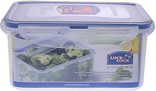 Lock & Lock Boîte de conservation rectangulaire Polypropylène 1.1L