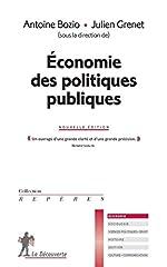 Économie des politiques publiques d'Antoine BOZIO