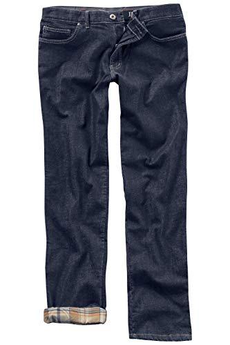 JP 1880 Herren große Größen bis 66, Thermo-Jeans, Funktionshose, Taschen & Stretch, 5-Pocket-Form, Gürtelschlaufen, Regular Fit Blue Stone 29 706504 91-29
