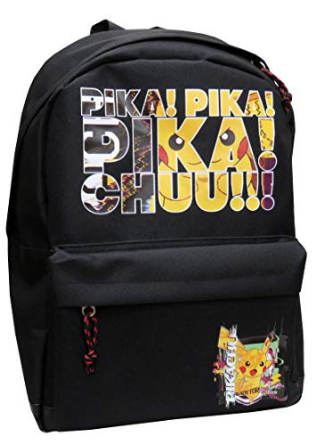 Mochila Urban Juvenil Adaptable a Trolley Pokémon 40x18x30 Cm