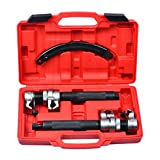 Prokomon 2 Pcs Coil Spring Compressor Tool - Coil Spring Clamps Strut Spring Compressor Tool Set with Safety Guard