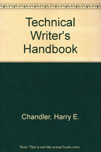 Technical Writer's Handbook