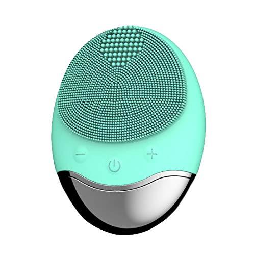 Cepillo De Limpieza Facial De Sonic Scrubber Vibración Resistente Al Agua Ipx7...