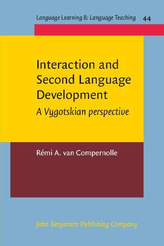 Interaction and Second Language Development: A Vygotskian Perspective (Language Learning & Language Teaching)の詳細を見る
