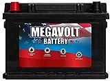 Megavolt Lead Acid Flooded Car Battery BCI: 42R BCI: 90 DIN T5/LB2, 12V 50AH CCA500 CA600 (42R-50-500)