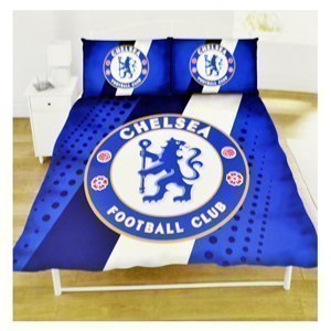 Chelsea FC Stripe DOUBLE Duvet Set