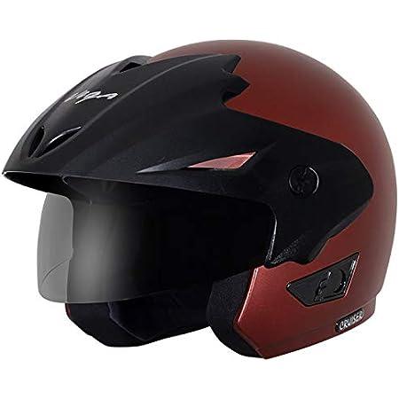 Vega Cruiser W/P Dull Burgundy Helmet, L