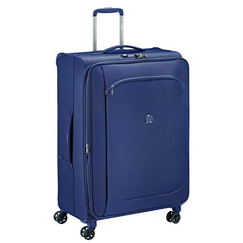 Delsey Paris MONTMARTRE AIR 2.0 Hand Luggage, 77 cm, 107.8 liters, Blue (Azul)