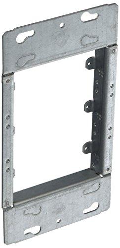 hubbell-raco 8223/4-Zoll erhöhte 4fach geschweißt Box Mud Ring