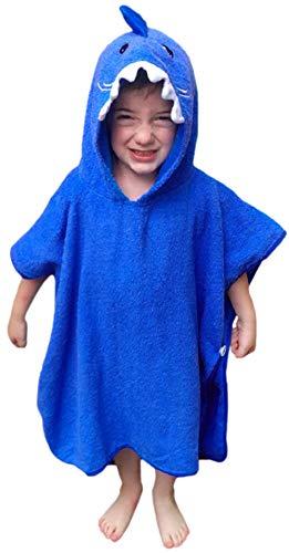 Hudz Kidz Premium Hooded Towel Poncho for Kids ...