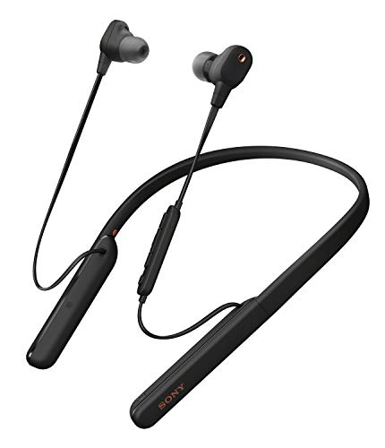 Sony WI-1000XM2 In-Ear Noise Cancelling Neckband Black Headphones (2020)