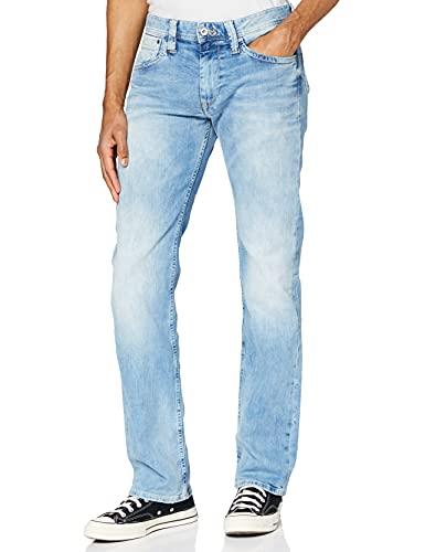 Pepe Jeans Kingston Zip Vaqueros, Azul (11Oz Vintage 8 Dip S55), 28W / 32L para Hombre
