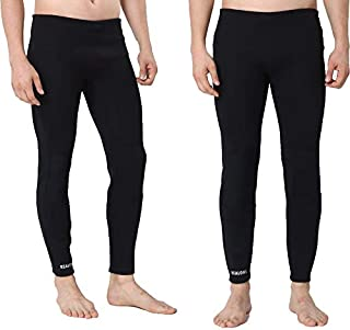 Realon Surfing Wetsuit Pant Men Womens Compression Leggings Swimming Tights Stretch Body Scuba Diving Snorkeling Canoe Pants