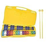 Joyhoop Xilófono de colores con 25 notas para niños, Xilófono, juguete musical para niños, Xilófono de percusiones de colores instrumento Xilófono para niños y niñas