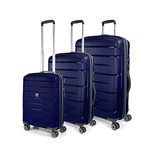 Starlight 2.0 Koffer-Set, 110 liters, Blau (Blu Notte)