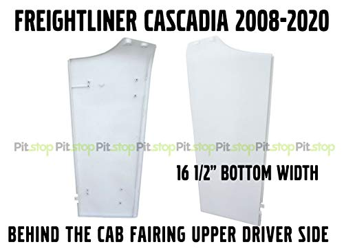 Freightliner Cascadia Semi Truck Behind Cab Cabin Fairing Extension Upper Left