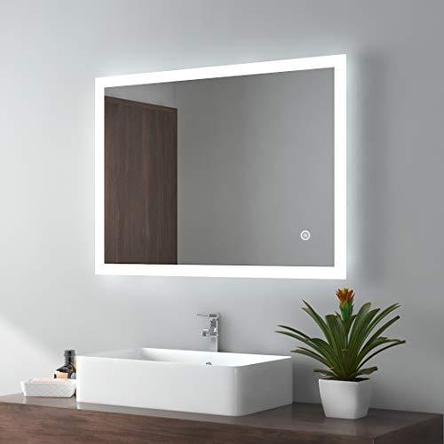 EMKE LED Badspiegel 80x60cm Bild