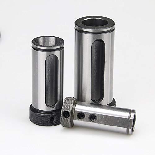 QINGRUI Lathe Tools D50 D25 D32 D40 D25-6/8/10/12/14/16/18/20/25 / 32MM MT1 MT4 MT2 MT3 CNC-Drehmaschine Werkzeughalter-Werkzeugmagazin Führungsbuchse Taper Shank Strong and Sturdy (Size : D40 MT2)