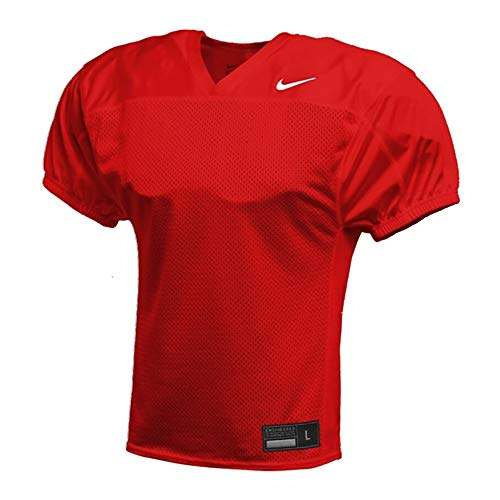 Nike Stock Recruit Practice Football Jersey - rot Gr. L