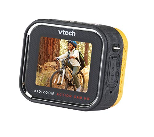 VTech Action Cam HD Action Camera for Kids, Kids Digital Camera for Outdoor Sports, Ideal Christmas Gift & Stocking Filler for Kids Girls & Boys Aged 5, 6, 7, 8 Years Old