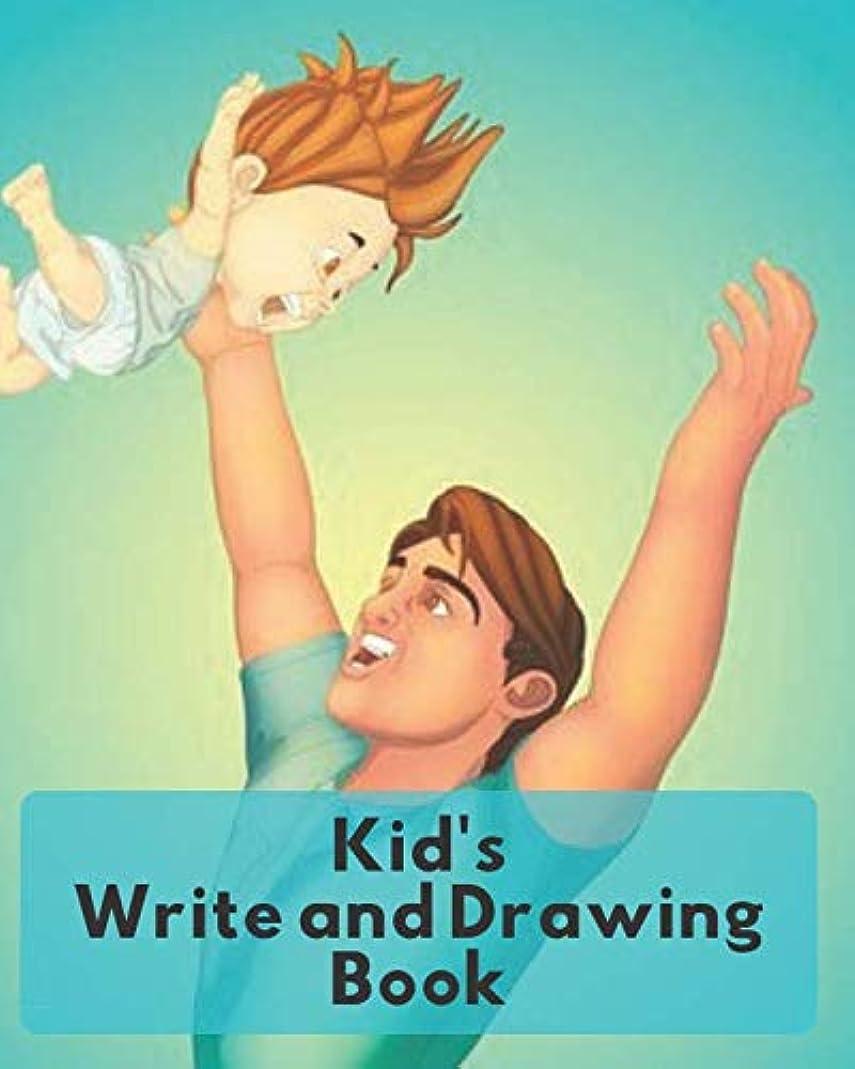 スーダンしばしば召集するKids Write and Drawing Book: Childrens Jumbo Blank Paper Journal Gift For Doodling Drawing Sketching Scribbling Writing and More (kids Creativity Book)