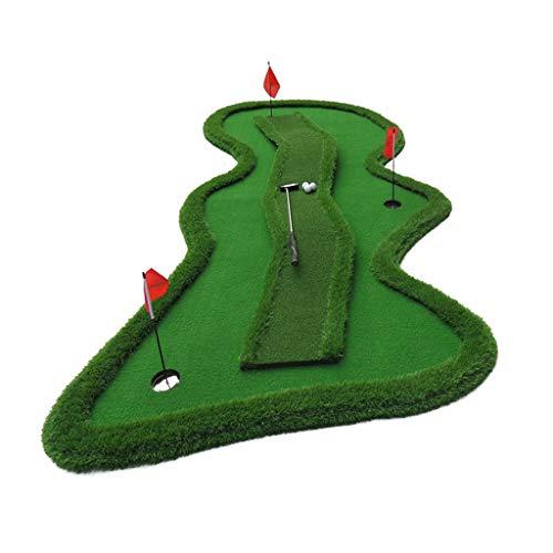 Ejercitador de Putter de Golf con Pendiente, Punto de inflexión, Sistema de Putting de Golf, Práctica de Golf en Interiores, Práctica Profesional del Sistema de Putting Green Golf