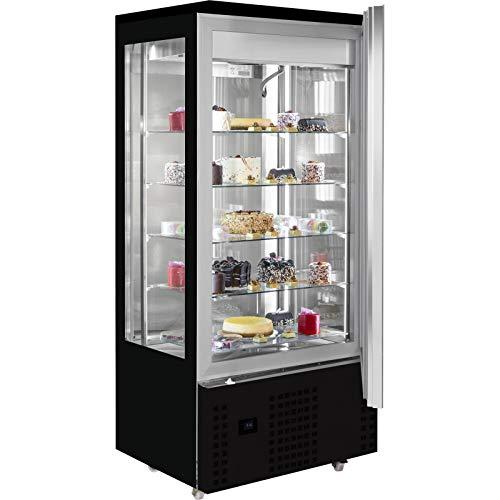 Vitrina refrigerada de 4 caras con cristal para chocolate – Combisteel –