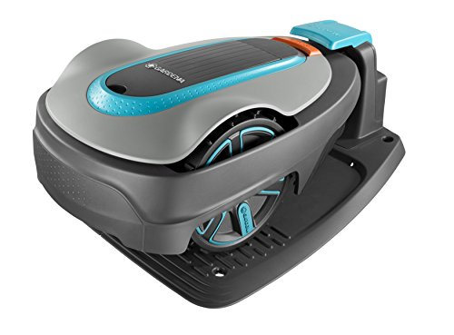 Gardena SILENO City: Robotic LawnMower for Up to 250 m sq Lawn Area, Inclines of Up to 25%, Cutting...