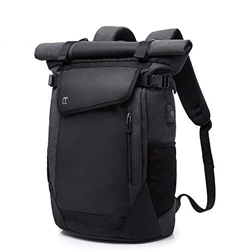 Zzyff Casual USB Men's Backpack Backpack Men's Breathable Wearable Business Computer Bag Travel Bag Student Bag