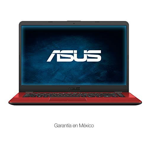 ASUS VivoBook X505BA.AMD Dual Core A9. 4GB RAM. 1TB HDD. Windows 10. 15.6″ Roja