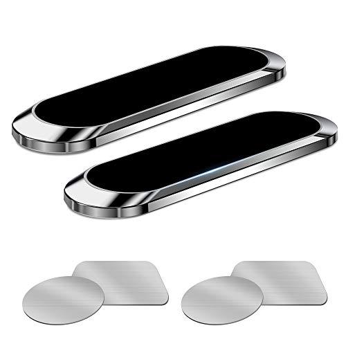 MOSA Soporte magnético para teléfono móvil, 2 unidades, soporte magnético para teléfono móvil, compatible con iPhone 12 11 Pro XS Max XR X 8 7