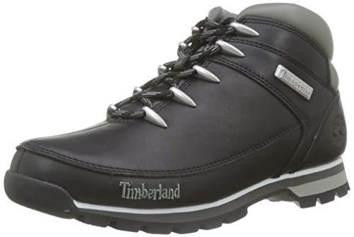 Timberland Euro Sprint Hiker, Bottes Chukka Homme, Noir (Black Smooth), 43.5 EU