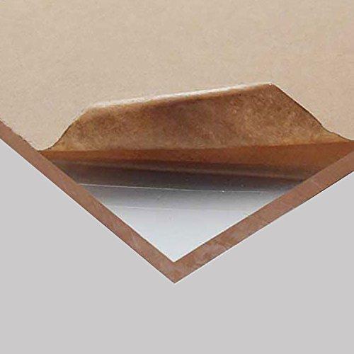 "Acrylic Plexiglass Plastic Sheet 1/2"" x 12"" x 48"" - Clear"