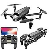 JJDSN Drone GPS de 3KM con cámara HD Dual de 6K 30 Minutos Mini Drones Motor sin escobillas Cuadricóptero RC Plegable Drone de fotografía aérea Profesional, 1 batería