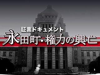 Nスペ 永田町・権力の興亡(NHKオンデマンド)