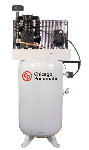 Chicago Pneumatic RCP-581VNS 5 HP 80 Gallon Two Stage Reciprocating Air Compressor
