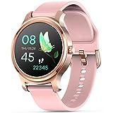 DOOK Smartwatch, Reloj Inteligente Impermeable IP67 Pulsera Actividad Inteligente para Deporte Mujer con Pulsómetro, Monitor De Sueño, Podómetro, Calorías para iOS Y Android