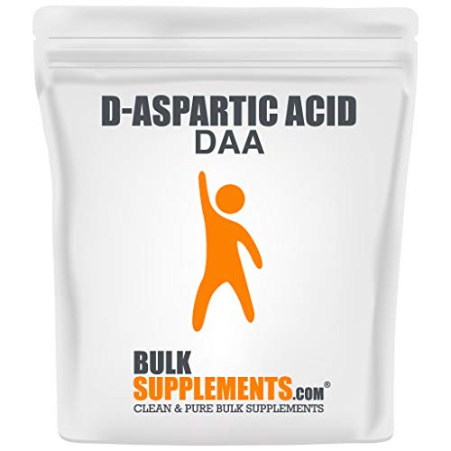 BulkSupplements D-Aspartic Acid (DAA) Powder (1 Kilogram)