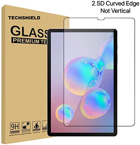 TECHSHIELD® Galaxy Tab S6 (2019) Screen Protector, [10.5 Inch] [Anti-Scratch][Easy Installation][Bubble Free] Tempered Glass for Samsung Galaxy Tab S6 10.5 (2019)