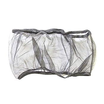 FLAMEER Récipient De Nourriture De Graine De Jupe De Filet Antipoussière Respirant D'alouette D'alouette - Noir, 33cm