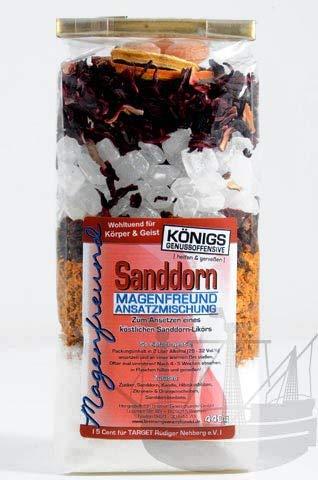 Magenfreund Ansatzmischung Sanddorn, 480g, zum Ansetzen, ohne künstliche Zutaten, Sanddornlikör, Likör selber machen - Bremer Gewürzhandel