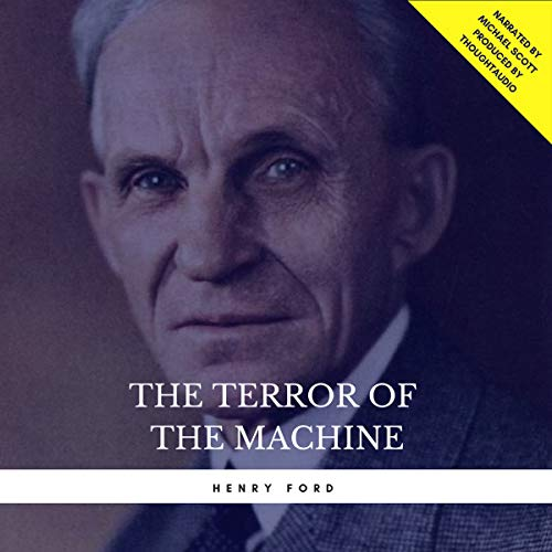 The Terror of the Machine audiobook cover art