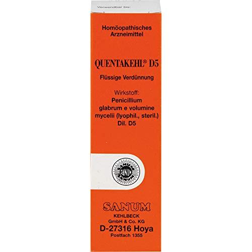 Quentakehl D5 flüssige Verdünnung, 10 ml Lösung
