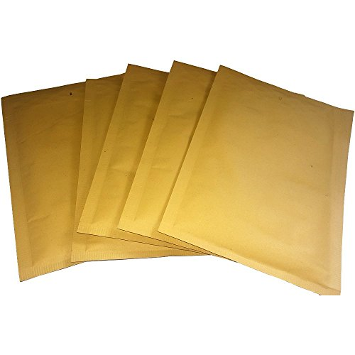 20 Stück C3 Luftpolstertaschen C/3 255mm x 170 mm Versandtasche Braun zum Verpacken Umschläge Briefumschlag mit Polster