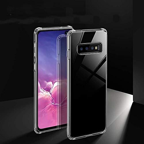 """Capa Capinha Para Samsung Galaxy S10 Tela 6.1"""" Polegadas Capinha Transparente Clear Ultra Fina Silicone - Danet (Transparente)"""